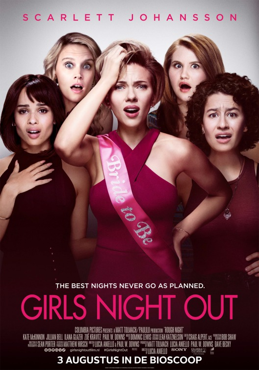 Girl s Night Out Poster
