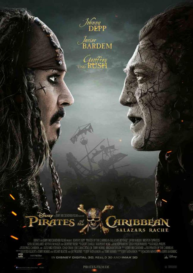 pirates of the carribbean 5 poster de